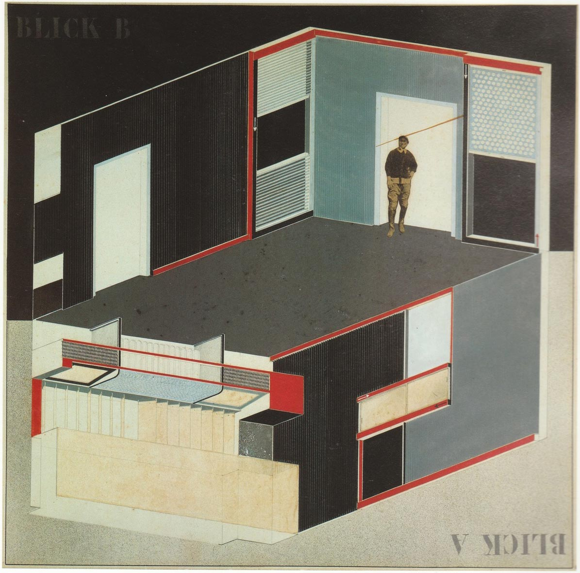 El Lissitzky, Cabinet-of abstraction, Commisioned by Alexander Dorner for Hannover Provincial Museum, 1927